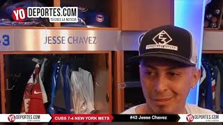Jesse Chavez Chicago Cubs 7- 4 New York Mets