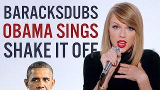 getlinkyoutube.com-Barack Obama Singing Shake It Off by Taylor Swift