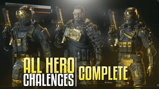 ALL HERO CHALLENGES COMPLETE (Black Ops 3)