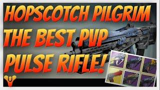 getlinkyoutube.com-Destiny - Best roll possible! Hopscotch Pilgrim, The Best PvP Pulse Rifle. (vs Messenger)