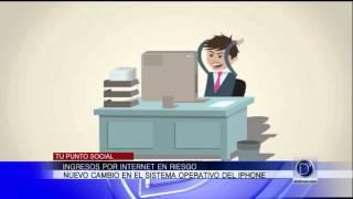 Ingresos por internet en riesgo por nuevo sistema del Iphone