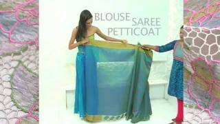getlinkyoutube.com-How to Drape a Saree in 3 Easy Steps