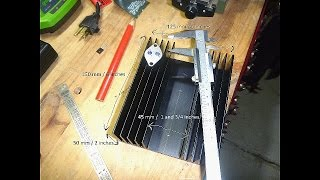 getlinkyoutube.com-DIY Bench Power Supply #8 - Mounting Transistors on the Heatsink