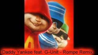 getlinkyoutube.com-Chipmunks - Rompe {Remix} : Daddy Yankee & G-Unit