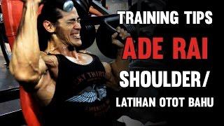 getlinkyoutube.com-Tips Ade Rai - Latihan Otot Bahu / Shoulder Muscle Training
