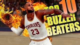 getlinkyoutube.com-NBA 2K16 TOP 10 BUZZER BEATERS & Game Winning Shots #2