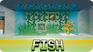 getlinkyoutube.com-Minecraft - Aquarium / Fish Tank Tutorial (Decoration Ideas)