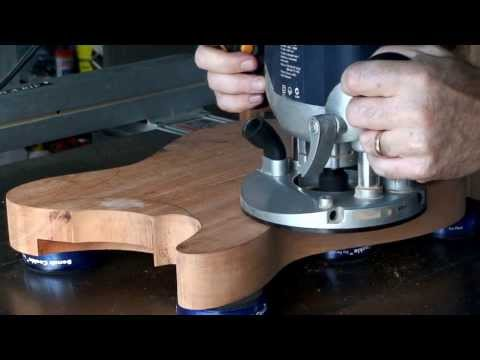 Part 3 - Bandsawing & Routing A Guitar Body (Telecaster)