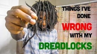 getlinkyoutube.com-#40 | Locs:  Mistakes I've Made w/ My Locs + Combining Locs @cedlocks
