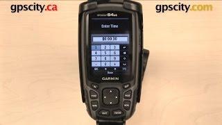 getlinkyoutube.com-Garmin GPSMAP 64 Series: Track Settings with GPS City