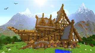getlinkyoutube.com-How To Build Your Perfect House In Minecraft!