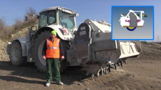 getlinkyoutube.com-Soil stabilization grinder in hard practical use [HD] [EN]