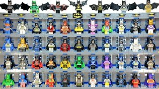 152 LEGO Batman Minifigures includes every Official Lego Batsuit KnockOffs Custom & MOC Collection