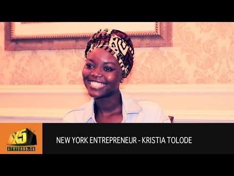 New York Entrepreneur - Kristia Tolode (@kristiatolode)