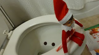 getlinkyoutube.com-My Elf on the Shelf GONE BAD: CAUGHT going POOPY on the potty (RARE FOOTAGE)