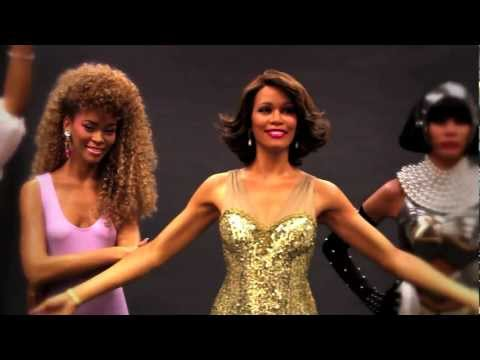 Whitney Houston Madame Tussauds Las Vegas Wax Figure Unveiling 2-11-13