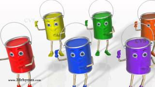 getlinkyoutube.com-Color Songs - 3D Animation Learning Colors Nursery Rhymes for children