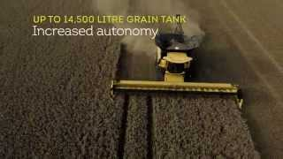 New Holland CR combine range - Enter a New Harvesting Dimension