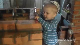 getlinkyoutube.com-Почему нельзя строить печи без огнеупорного  кирпича...