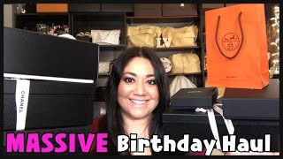 getlinkyoutube.com-MASSIVE Birthday Haul | Chanel Cruise 2017 &  Hermes