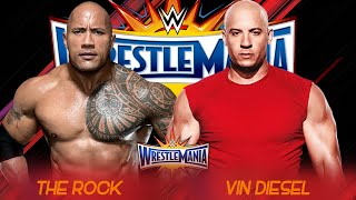 getlinkyoutube.com-The Rock vs Vin Diesel Wrestlemania 33 - Promo - HD
