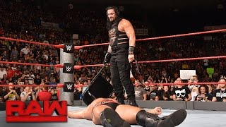 Roman Reigns vs. Rusev - United States Championship Match: Raw, Sept. 26, 2016 width=