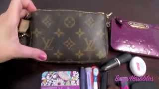 getlinkyoutube.com-Louis Vuitton Mini Pochette Review