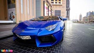 getlinkyoutube.com-amazing blue Lamborghini Aventador LP700-4