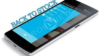Return OnePlus One to Absolute Stock - To Sell or for Warranty