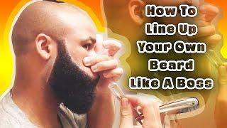 getlinkyoutube.com-How To Line Up Your Own Beard Like A Boss | BRDGNG