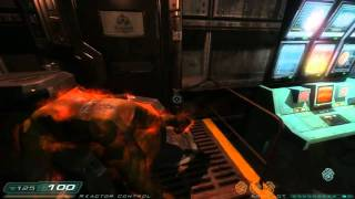 Doom 3: RoE Walkthrough Part 9 HD - Phobos Labs - Sector 3: Main Reactor
