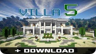 Villa mit Tresor Raum, Kartenschloss und autom. Postfach - Modernes Wohnen #06 - Minecraft [DE]