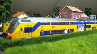 getlinkyoutube.com-Meerdam-Station Maren- IRM Rivarossi en Koploper