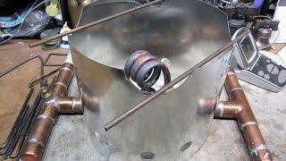 "getlinkyoutube.com-""The Acosta"" - Copper Coil Alcohol Stove - Boil Test (Sorta)"