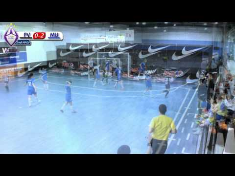 Pascoe Vale vs Melbourne Uni,  Round 10, (Women's V-League) 2013/14 Season, Futsal Oz