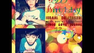 Happy Birthday Iqbaal Dhiafakhri Ramadhan ke 12 tahun by @COmate_Bali