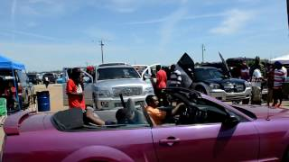 FREAKNIC 2013-Girl Falls off Truck-Grudge Race/Car side winds and Walk Down Opponent