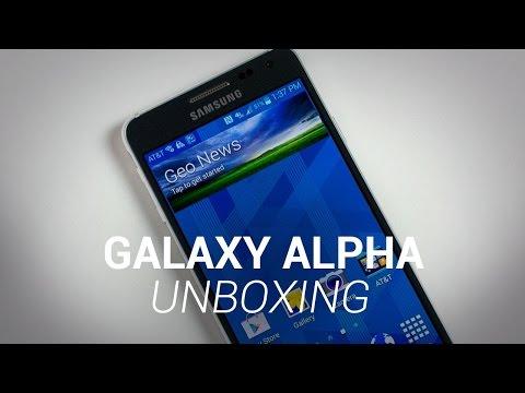 فتح صندوق جلاكسي الفا | Unboxing Samsung Galaxy Alpha
