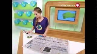 getlinkyoutube.com-Persiana de papel periodico