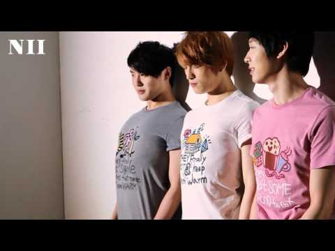 JYJ's Behind the Scenes video from NII 2011 Summer Collection Photo shoot