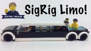 getlinkyoutube.com-LEGO MOC Car Limousine!