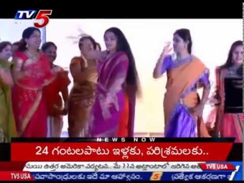 Actress Suhasini Maniratnam Dance in UAE Anniversary Celebrations : TV5 News