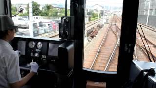 getlinkyoutube.com-女性運転士が運転する京阪13000系