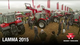 Welcome to the Massey Ferguson show stand at Lamma 2015