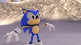 getlinkyoutube.com-Sonic Vs Metal Sonic (Fandub Latino)