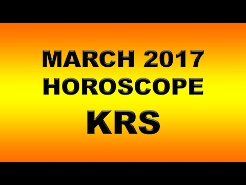 March 2017 Horoscope for ascending souls in Astrology