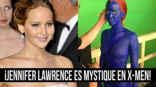 getlinkyoutube.com-¡Jennifer Lawrence es Mystique en X-Men!