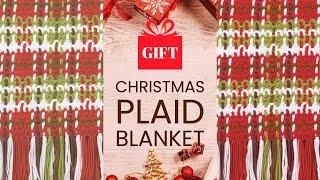 getlinkyoutube.com-How to Crochet an Afghan: Plaid Woven Afghan