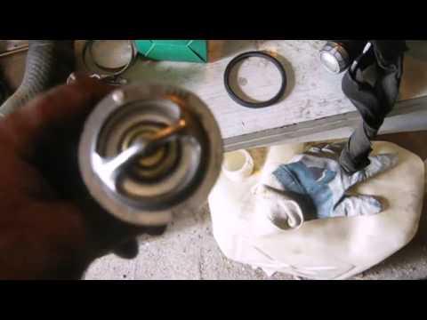 Замена термостата Мицубиси паджеро (Mitsubishi Pajero),с двигателем 4м40 на УАЗовский