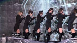 소녀시대(SNSD)-Run Devil Run.Hoot.아송페.111105